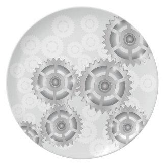 gears set plate
