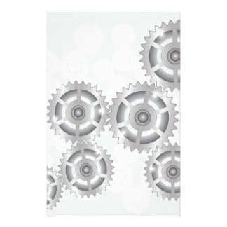 gears set stationery