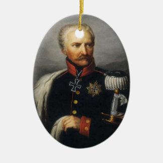 Gebhard von Blucher Ceramic Ornament