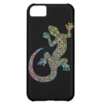 Geck Gecko Psychedelic Design iPhone 5 Cases