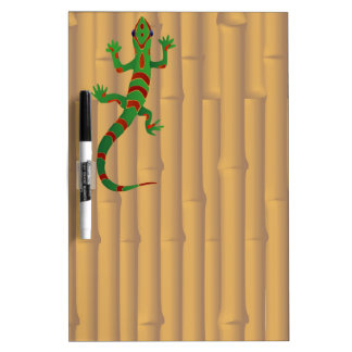 gecko and bamboo dry erase whiteboard