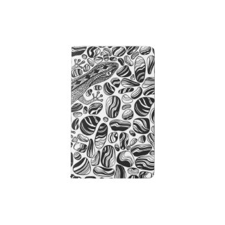 Gecko and pebbles pocket moleskine notebook