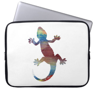 Gecko art laptop computer sleeves