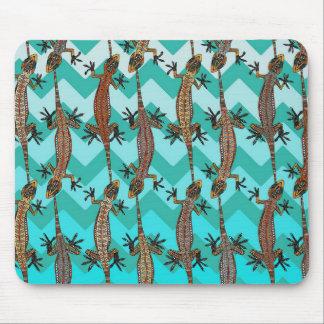 gecko chevron mouse pad