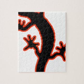 Gecko Jigsaw Puzzle