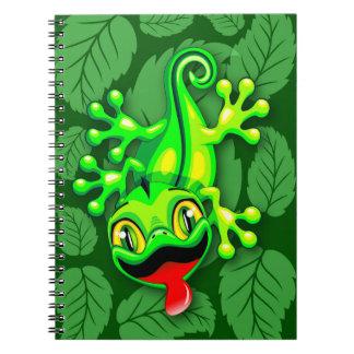 Gecko Lizard Baby Cartoon Notebooks