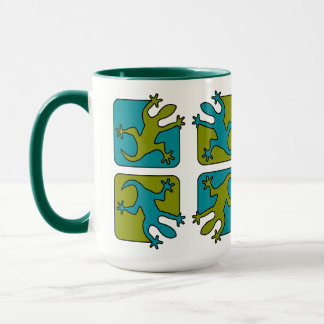 Gecko / Lizard mugs - choose style, color