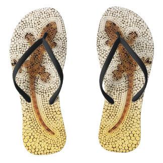 Gecko lovers unite! flip flops