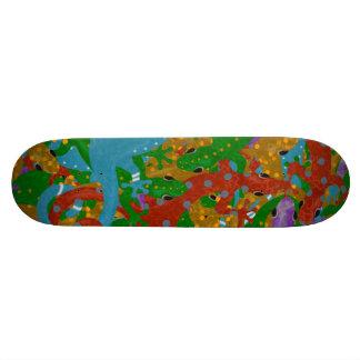 Gecko Mania Skate Board Decks