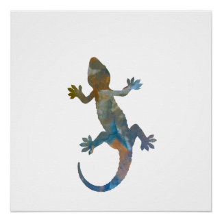 Gecko Perfect Poster