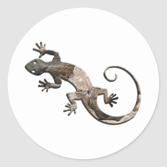 Gecko Stone Wall Stickers