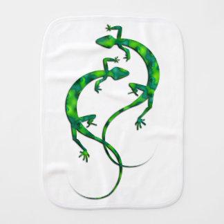 Geckos Burp Cloth