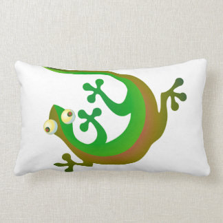 geckos lumbar pillow