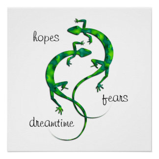 Geckos Poster
