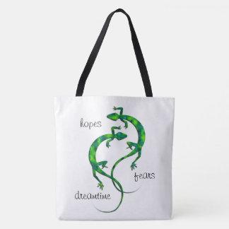 Geckos Tote Bag