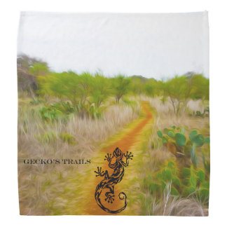 Gecko's Trails Bandana