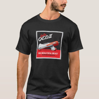 Gee Bee QED II // Big Beast T-Shirt // Black