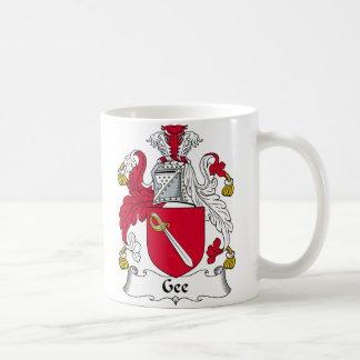 Gee Family Crest Coffee Mug