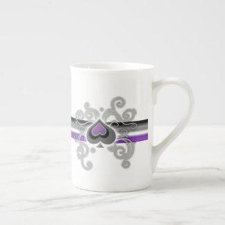 Geebot's ace color spade logo pride flag fine mug