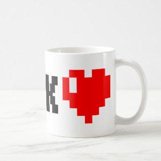 Geek <3 coffee mug