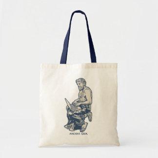 Geek antique sac en toile budget