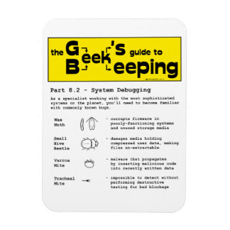 Geek Beekeeping (Debugging) - Magnet