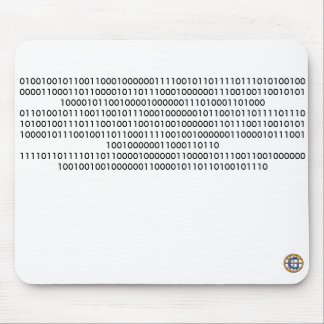 "Geek Binary Code ""If you can read this..."" Mouse Pad"