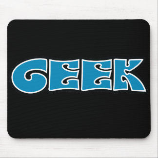 Geek Blue Mouse Pad