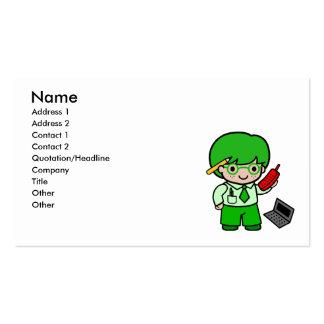 Geek Boy Business Card