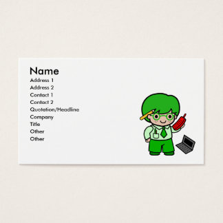 Geek Boy Business Card