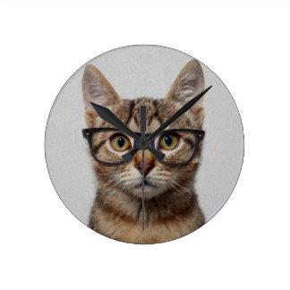 Geek Cat Wall Clocks
