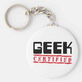 Geek Certified Keychain