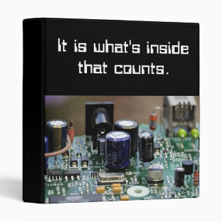 Geek circuit binder