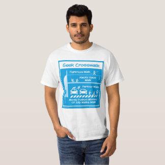 """Geek Crosswalk"" Men's T-shirt"