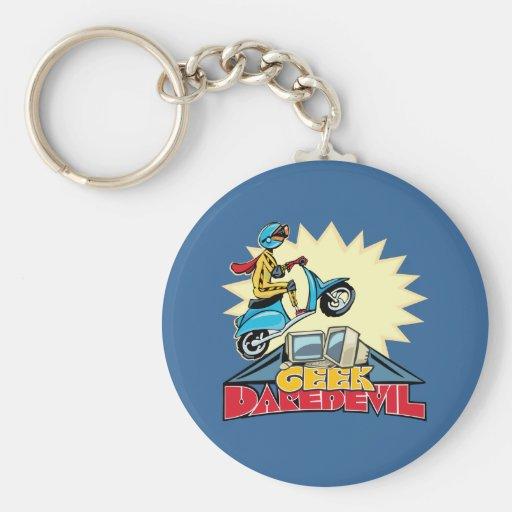 Geek Daredevil Jump Keychains