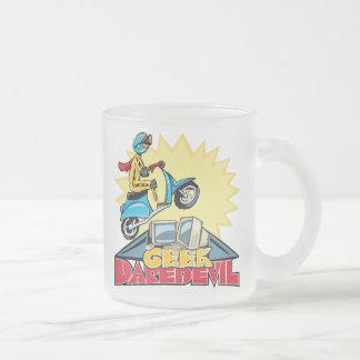 Geek Daredevil Jump Frosted Glass Mug