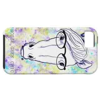 Geek de cheval chic coque iPhone 5