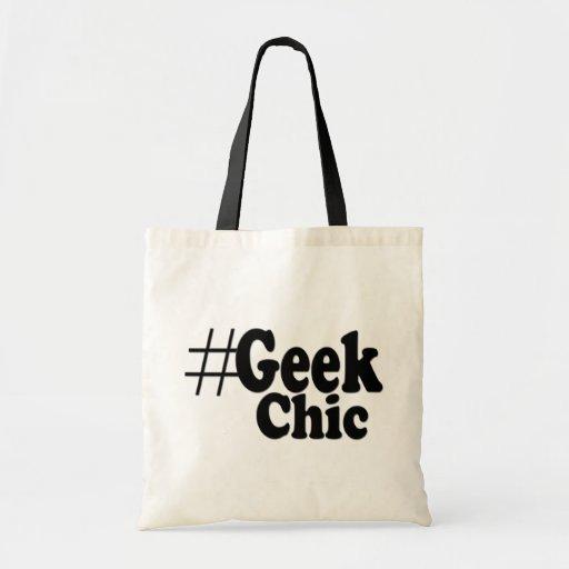 Geek de Hashtag chic Sacs De Toile