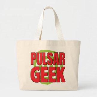 Geek de pulsar sacs en toile