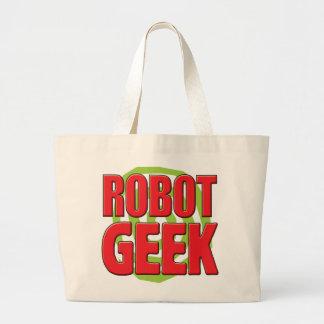 Geek de robot sac fourre-tout
