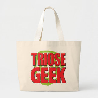 Geek de triose sacs en toile