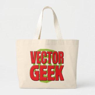 Geek de vecteur sacs en toile