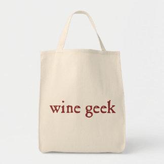 Geek de vin sac en toile épicerie