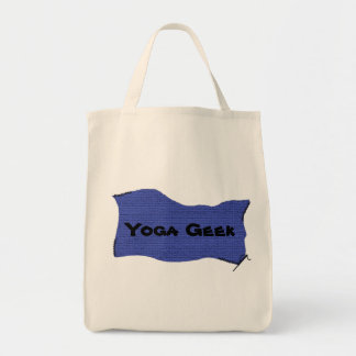 Geek de yoga - yoga organique Fourre-tout Sac En Toile Épicerie