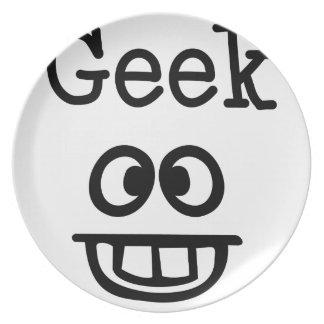 Geek Design Plate