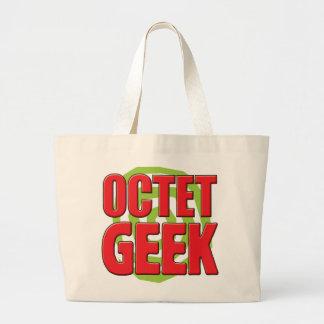 Geek d'octet sacs de toile