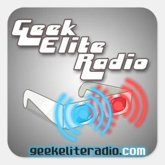 Geek Elite Radio Stickers