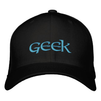 GEEK Embroidered Hat