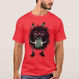 Geek Evil Bug Student Loves Reading Mens T-Shirt