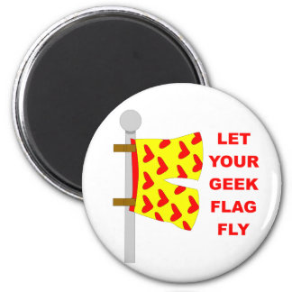 geek flag 2 inch round magnet